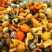 bin of assorted squash and gourds    MG 4412