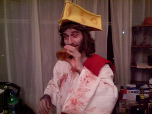 Drunk Zombie Christ