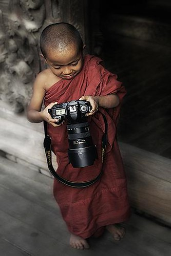 Nikon User, Mandalay, Myanmar