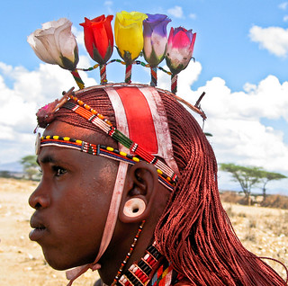 Samburu moran (warrior)