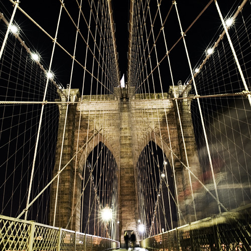 Brooklyn Bridge, New York City. USA