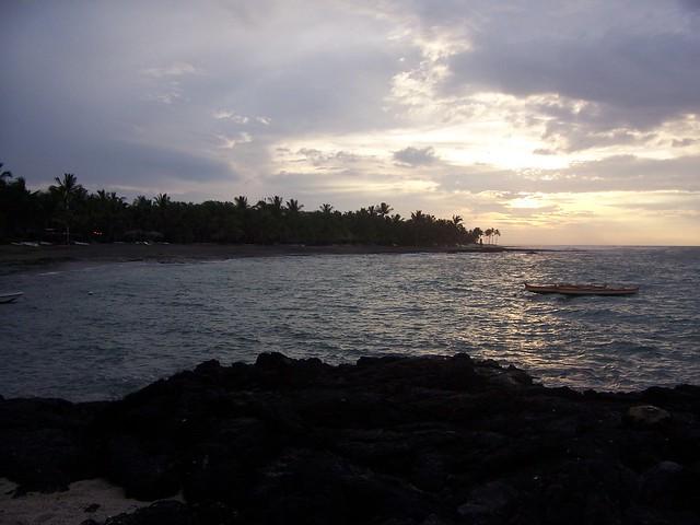 Kahuwai bay