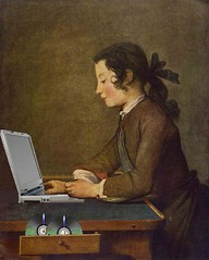 The House of Blogs, after Jean-Baptiste Siméon Chardin; CC BY 2.0 by Mike Licht