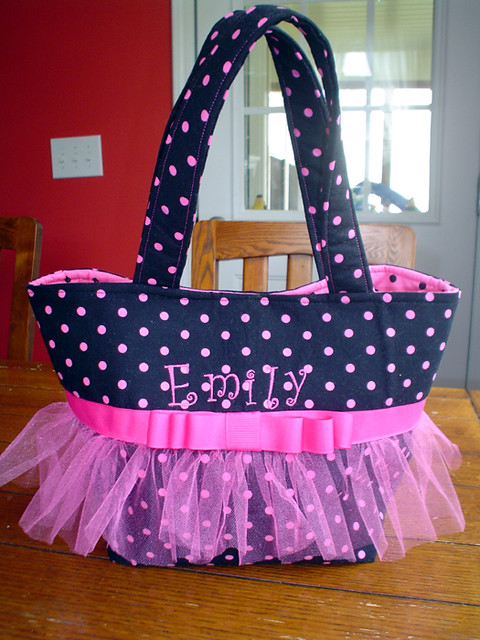 Emily's Dance Bag Front