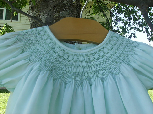 Instructions for a Smocked Bishop Dress | eHow.com
