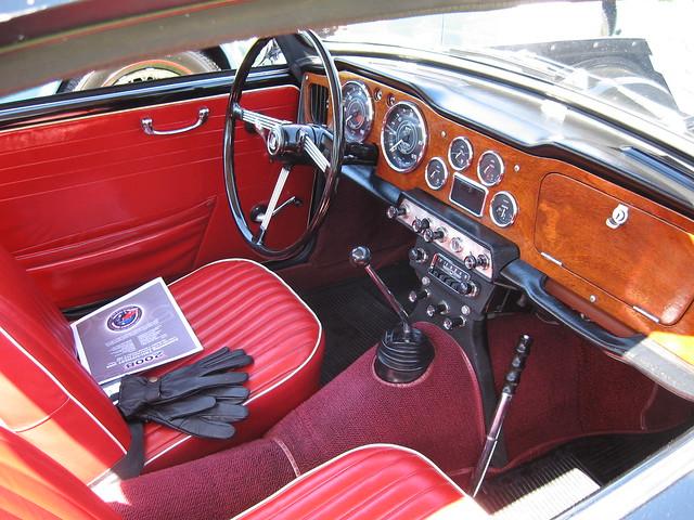 1964 Triumph Tr4 Interior Flickr Photo Sharing