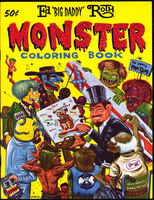 roth monster coloring book
