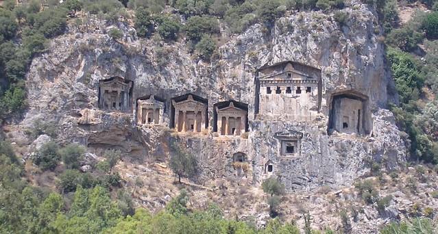 lycian_tombs