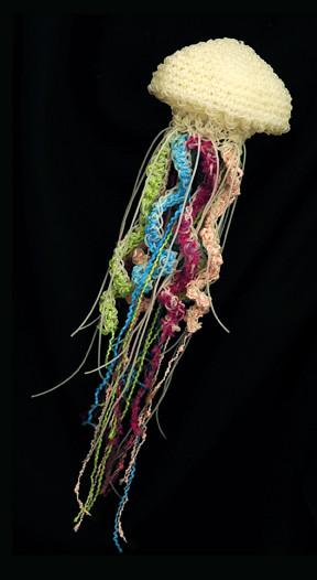 Freeform Crochet Jelly Jellyfish | Flickr - Photo Sharing!