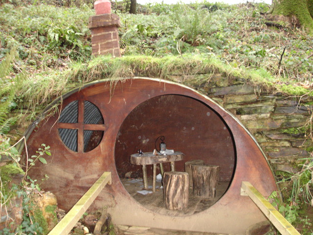 Photo for How to build a hobbit hole playhouse