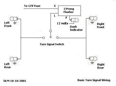 vw bug wiring diagram 4 prong flasher schematic diagram 12V LED Flasher thesamba com hbb off road view topic please check my rail 56 vw bug wiring