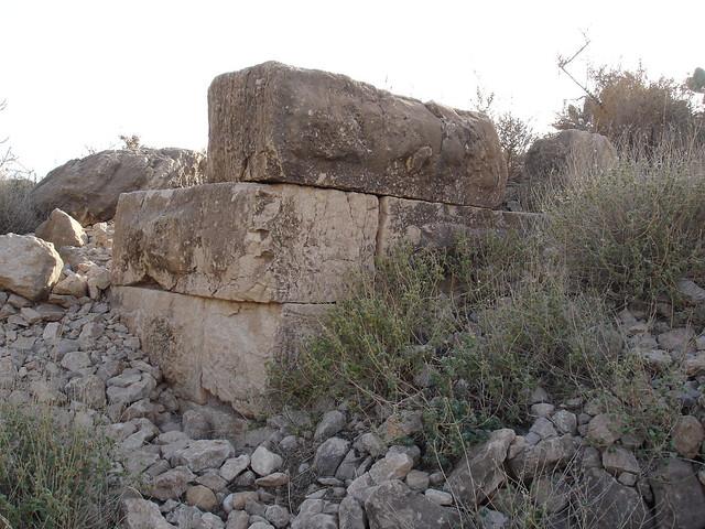 Remains of a historical fort in Gacha, Ah Frah بقايا قلعة أثرية ببني فرح