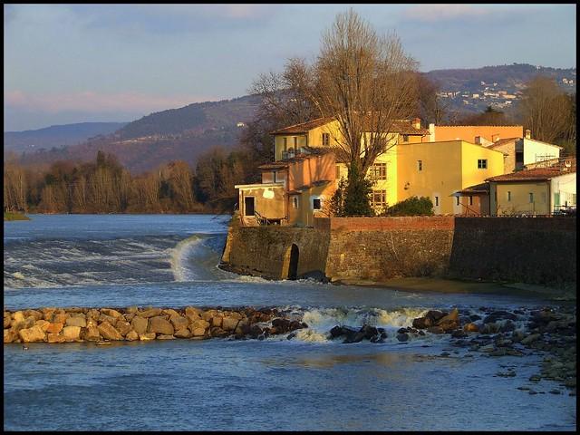 Mulino di Badia a Ripoli, Molino Guazzine, Molino Guasti o Molino Silva