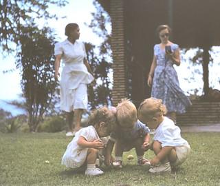 First Egg Hunt - Caraballeda, Venezuela 1956