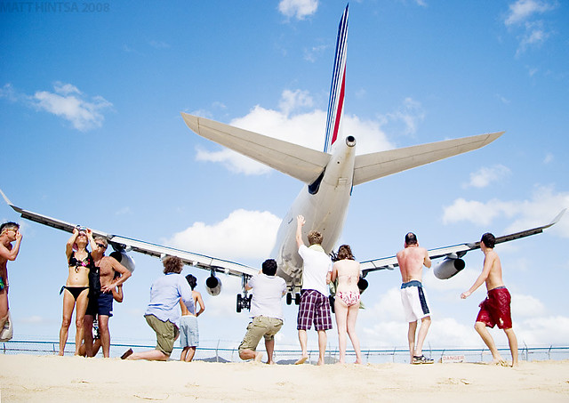 Photographing Planes While Getting a Tan Is  As Awesome As It Is Scary