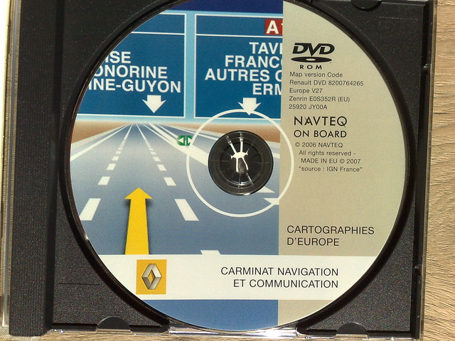 Renault Carminat Navigation Communication Europe V31.1