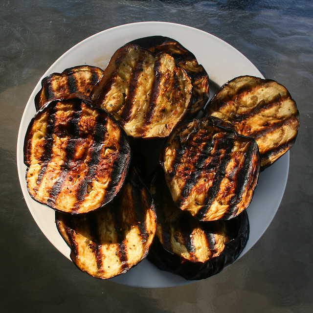 world's best-tasting grilled eggplant from Flickr via Wylio