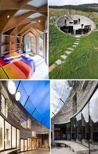 Underground House In Switzerland Maquette By Samantha Hahn