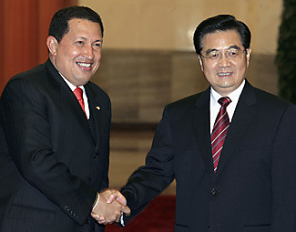 Venezuelan and Chinese leaders have signed a $4 billion oil agreement. by Pan-African News Wire File Photos