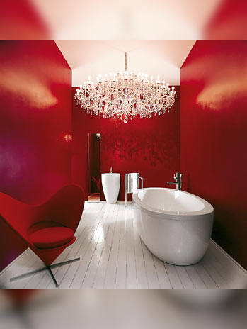Red Bathroom 2