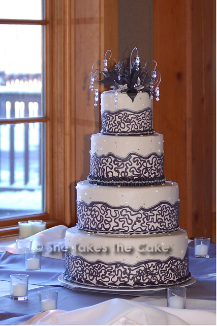 how to make a wedding cake with fondant s cake 021608 flickr photo 15907