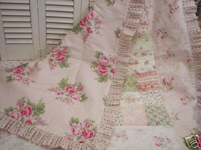 Shabby Chic Bedspread on Shabby Chic Quilt   Back Side   Flickr   Photo Sharing