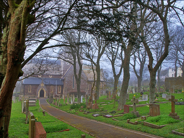 Fog in the Graveyard - Alderney