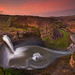 Palouse Falls Sunrise by Chip Phillips