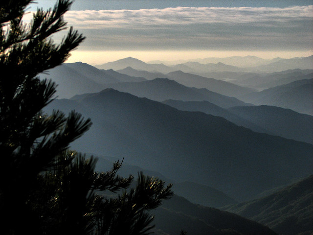 Endless Mountains-Jirisan National Park-South Korea
