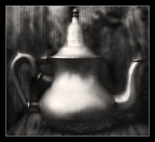 1026 I have a nice old teapot and the good tea,bat...NO WATER-NO TEA