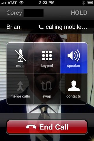 conference call on iphone conference call on iphone flickr photo 13846