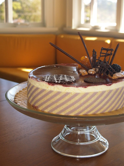 lemon blackberry mousse cake | Explore alliecooper's photos ...
