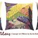 Mary Blair Disney Art Pillows by Miehana