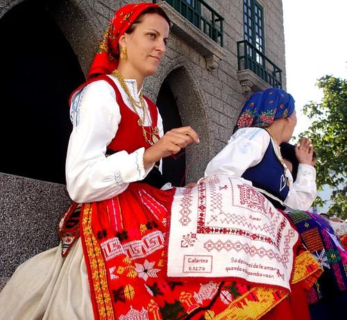 Cortejo Etnográfico das festas de Nossa Senhora da Agonia em Viana do Castelo -Portugal