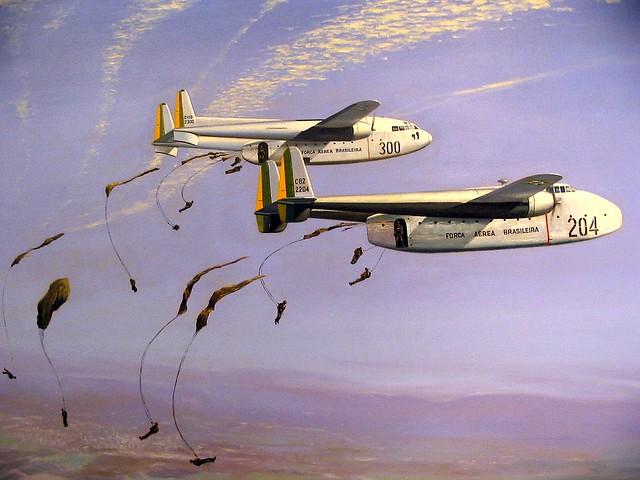 119 Flying Boxcar - C-82 Packet, Força Aérea Brasileira ...