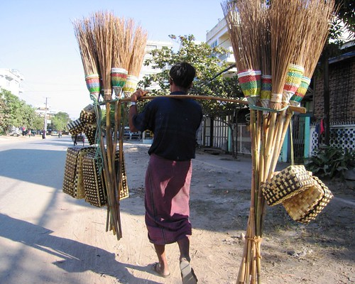 Mr Broom - Mandalay, Myanmar (Burma)