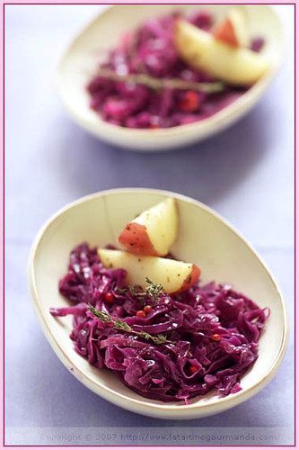 Stewed Red Cabbage with Apples