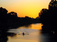 Boat on the Yarkon River by RonAlmog, on Flickr
