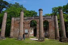 Massive ruins