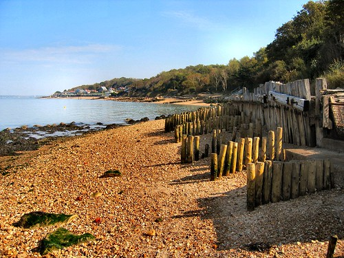 GURNARD BAY NR COWES. ISLE OF WIGHT UK.