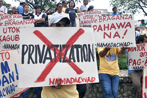 NO to DCWD Privatization