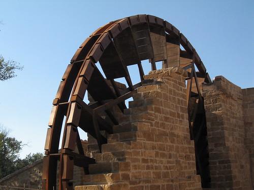 Noria del Monasterio de Rueda. Sástago.