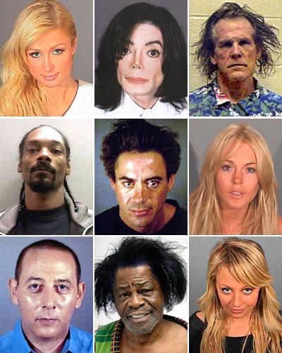 celebrity mugshots