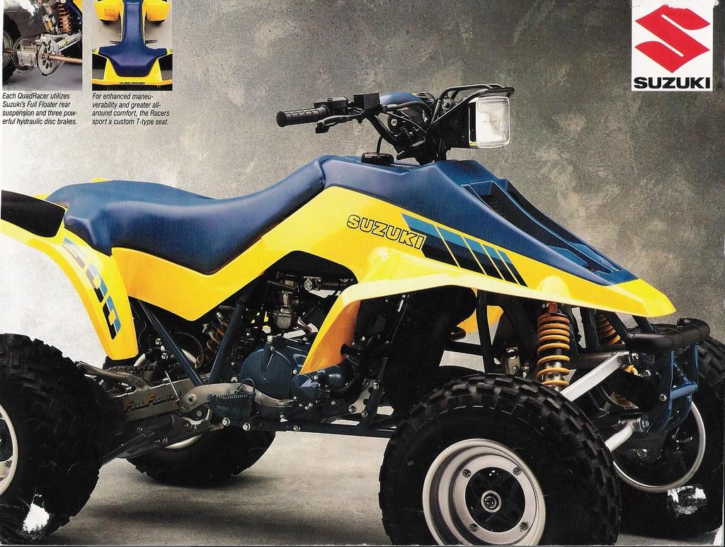 Suzuki Ltr Quadzilla Video