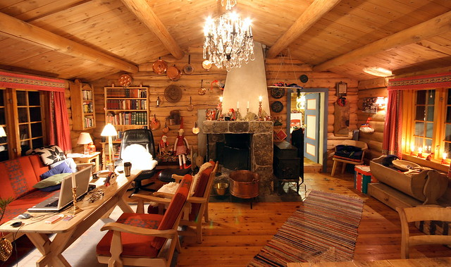 Cabin Interior Flickr Photo Sharing