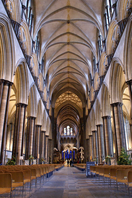 Salisbury Cathedral nave | Flickr - Photo Sharing!