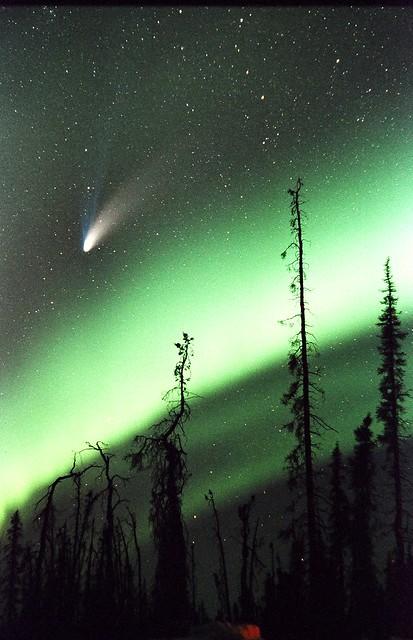 northern lights comet - photo #31