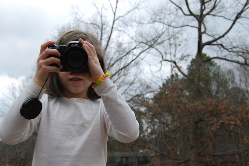 Beth with the camera - watch out world!