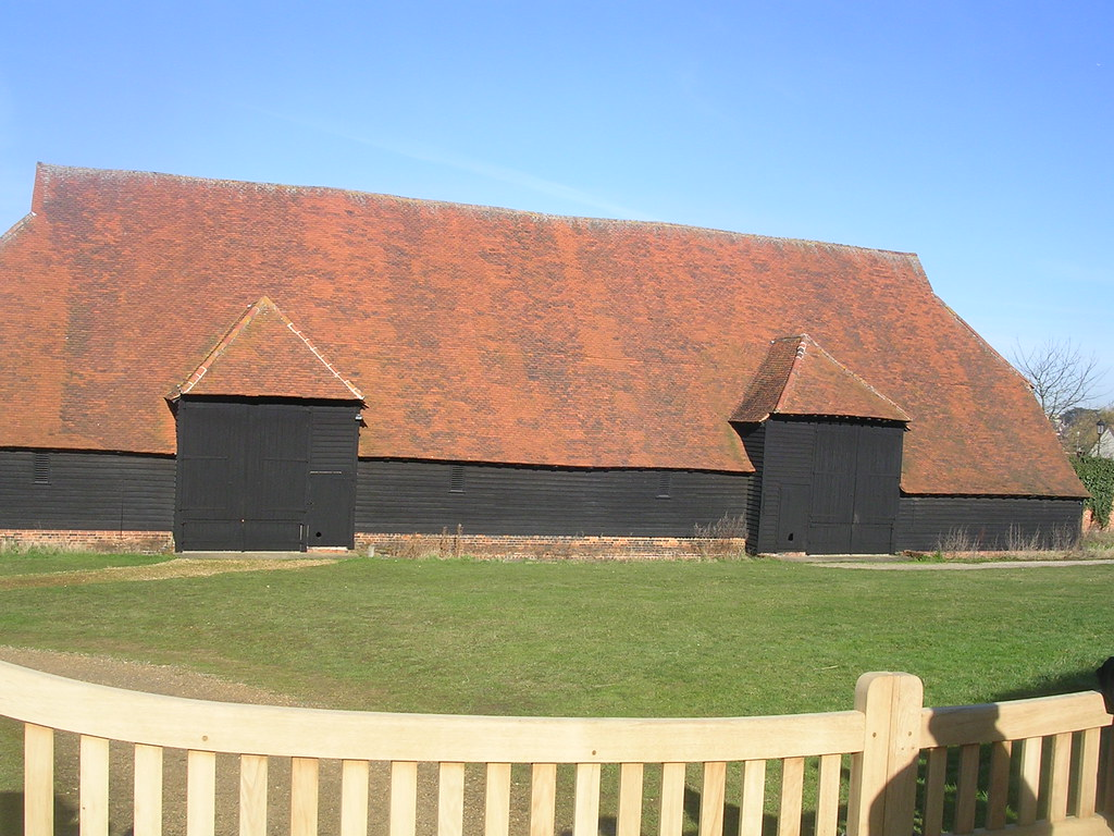 Grange Barn, Coggeshall Oldest Barn in Europe (12thC) Kelvedon circular