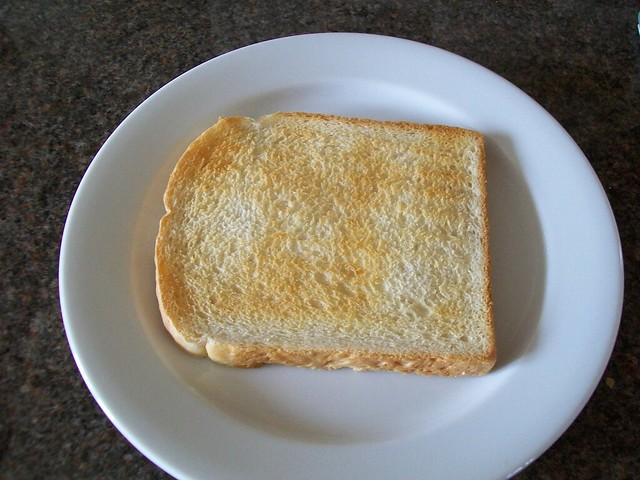 Random slice of toast